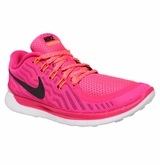 Nike Free 5.0 Women's Training Shoes - Fluorescent Pink/Bright Citrus/Black
