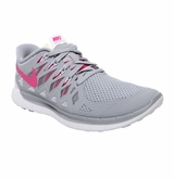 Nike Free 5.0 Women's Training Shoes - Gray/Pink