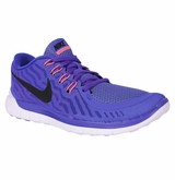Nike Free 5.0 Women's Training Shoes - Persian Violet/Fuchsia Glow/Black