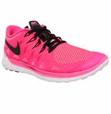 Nike Free 5.0 Women's Training Shoes - Pink/Black
