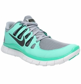 Nike Free 5.0+ Women's Training Shoes - Silver