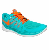 Nike Free 5.0 Women's Training Shoes - Turquoise/White/Crimson