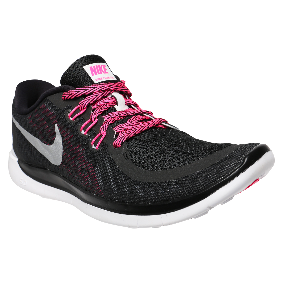 nike free 5 0 youth shoes black pink