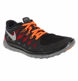 Nike Free 5.0 Youth Training Shoes - Black/Red/Silver