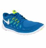 Nike Free 5.0 Youth Training Shoes - Blue/Navy/White