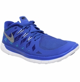 Nike Free 5.0 Youth Training Shoes - Lyon Blue/Black