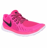 Nike Free 5.0 Youth Training Shoes - Pink Pow/Black