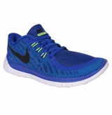 Nike Free 5.0 Youth Training Shoes - Royal/Neo Turquoise/LT Retro