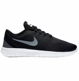 Nike Free RN Boy's Training Shoes - Black/Anthracite/Silver