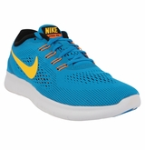 Nike Free RN Men's Running Shoe - Heritage Cyan/Blue/Laser Orange