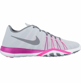 Nike Free TR 6 Women's Training Shoes - Pure Platinum/Stealth/Pink Blast