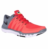 Nike Free Trainer 5.0 V6 Men's Training Shoe - Darling Red/Graphite/Black