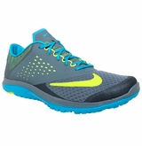 Nike FS Lite Run Men's Training Shoes - Blue Graphite/Blue Lagoon/Volt