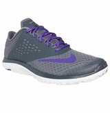 Nike FS Lite Run Women's Training Shoes - Gray/Hyper Grape/White