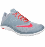 Nike FS Lite Run Women's Training Shoes - Gray/Hyper Punch