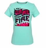 Nike Game is On Fire Girl's Short Sleeve Shirt