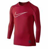 Nike Hypercool HBR Fitted Yth. Long Sleeve Top