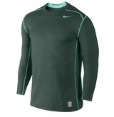 Nike Hyperwarm Dri-Fit Crew Sr. Fitted Long Sleeve Shirt