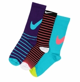 Nike Lightweight Girl's Crew Socks - 3 Pack