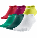 Nike Lightweight Women's No-Show Socks - 6 Pack