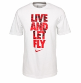 Nike Live and Let Fly Yth. Short Sleeve Shirt
