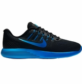 Nike LunarGlide 8 Men's Training Shoes - Black/Royal/Cobalt