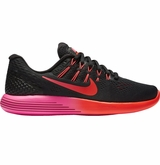 Nike LunarGlide 8 Women's Training Shoes - Black/Multi-Color/Noble Red