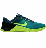 Nike Metcon 2 Men's Training Shoes - Rio Teal/Volt/Midnight Turquoise/Black