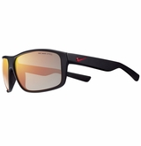 Nike Premier 8.0 Sunglasses - Matte Black/Red/Gray