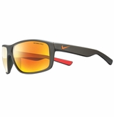 Nike Premier 8.0 Sunglasses - Matte Cargo/Gray/Orange