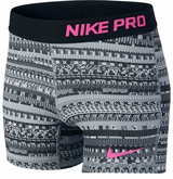 Nike Pro Allover Print 3in. Girl's Shorts