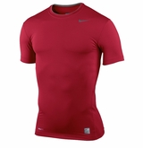 Nike Pro Combat Core Yth. Compression Short Sleeve Shirt