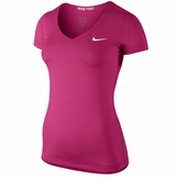 Nike Pro Core V-Neck Women's Short Sleeve