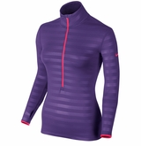 Nike Pro Hyperwarm Embossed Half-Zip Women's Training Shirt