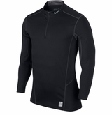 Nike Pro Hyperwarm Lite Sr. Fitted 3/4 Zip Top