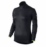 Nike Pro Hyperwarm Stripe Half-Zip Women's Top