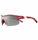 Nike Show-X1 Sunglasses - Red/White/Gray