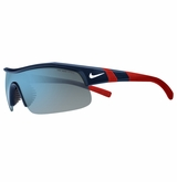 Nike Show-X1 Trout Sunglasses - Matte Navy/White/Red