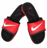 Nike Solarsoft Comfort Men's Slide Sandal - Challenge Red/Black/White