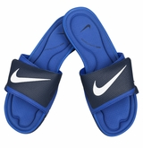Nike Solarsoft Comfort Men's Slide Sandal - Midnight Navy/Royal/White