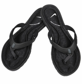 Nike Solarsoft Comfort Women's Thong Sandals - Black/Anthracite/White