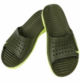 Nike Solarsoft Slide Sandal - Green/Volt