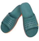 Nike Solarsoft Slide Sandal - Teal/Orange