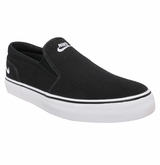 Nike Toki Men's Slip On Shoes - Black/White