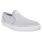 Nike Toki Men's Slip On Shoes - Wolf Gray/White