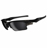 Oakley Fast Jacket XL Polarized Black/Black Iridium Sunglasses