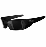 Oakley Gascan Matte Black/Black Iridium Polarized Sunglasses