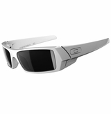 Oakley Gascan Polished White/Black Iridium Sunglasses