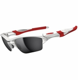 Oakley Half Jacket 2.0 XL Polished White/Red w/ Black Iridium Sunglasses