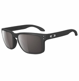 Oakley Holbrook Matte Black W/Warm Grey Sunglasses